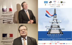 Amb. Galey bares love for movies, promotes 24th French Film Festival