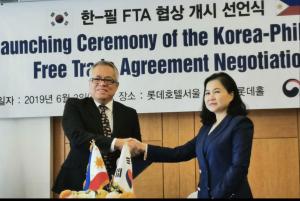 Philippines, Republic of Korea start negotiation