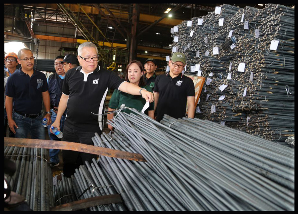 DTI catches hardware stores selling substandard products in Valenzuela