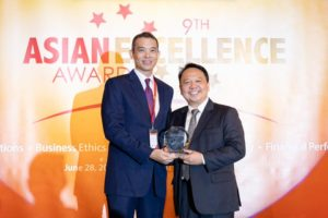 SM group shines at 9thAsia Excellence Awards