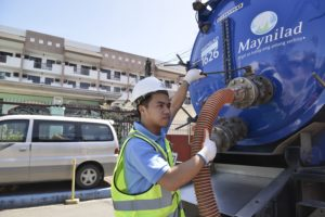 Maynilad Offers Desludging Service this July