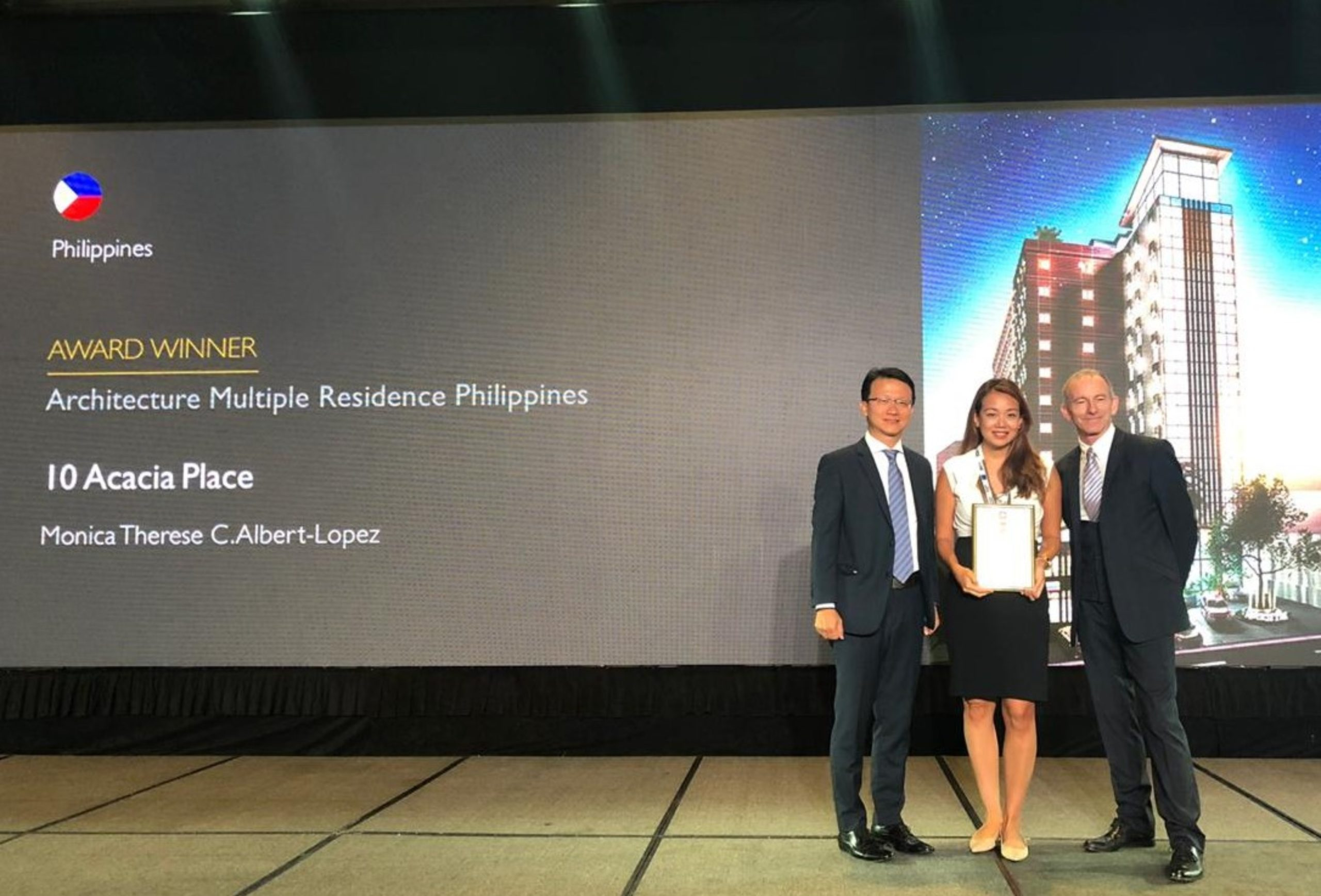 Philippine Developer wins Two Awards at the 2019 Asia Pacific Property Awards