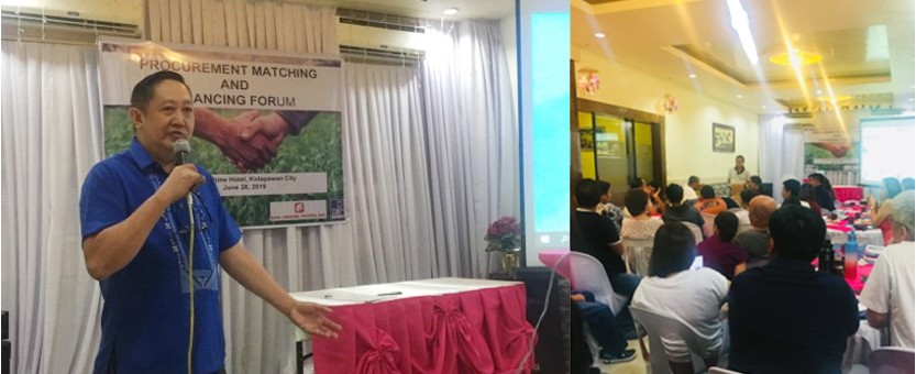 BOI's Procurement Matching and Financing Forum in Cotabato Expects P414-M Investments Yield