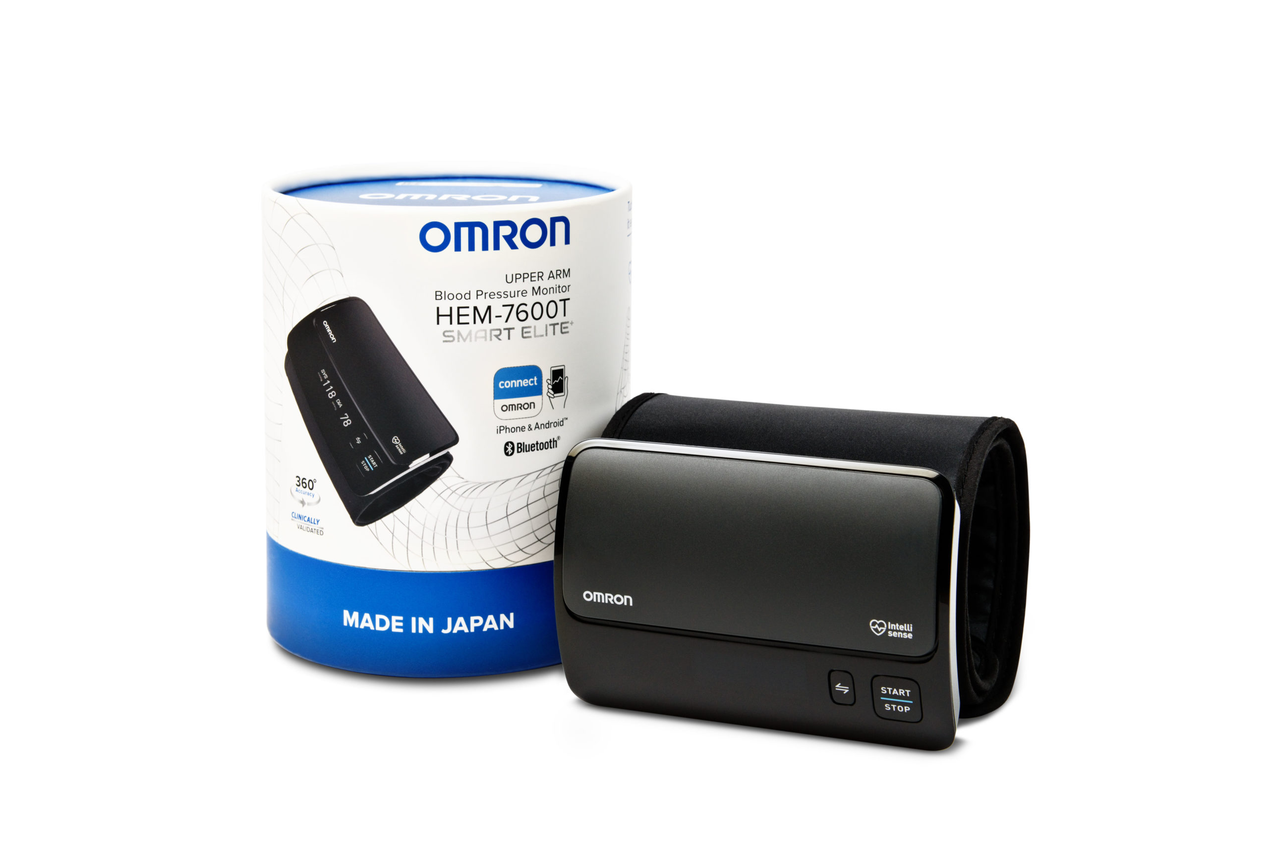 OMRON makes home blood pressure monitoring easier with connectivity lineup