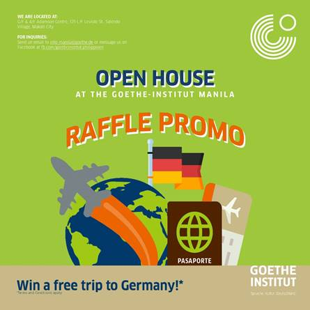 German culture at its best at Goethe-Institut Open House, Aug. 31