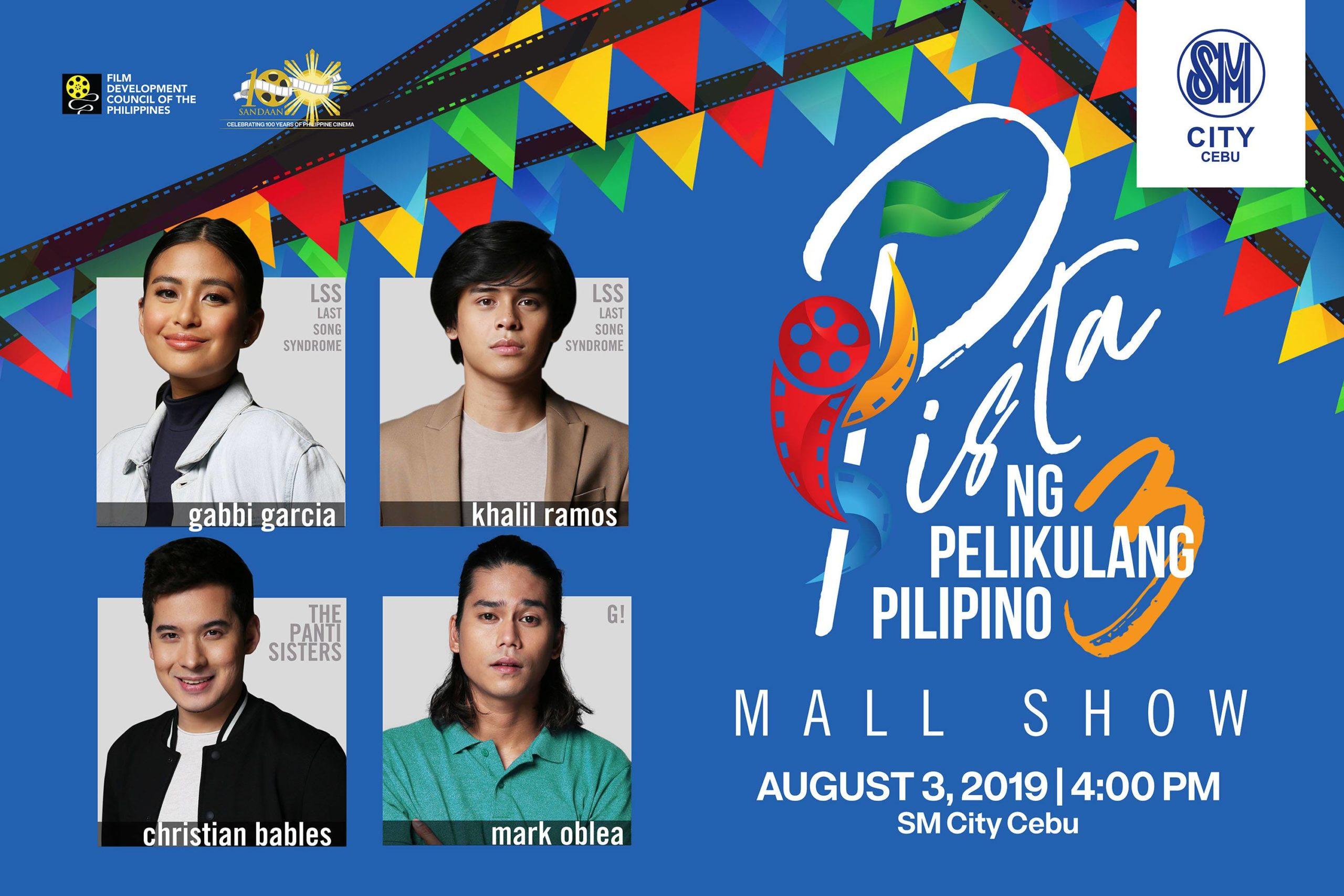 Pista ng Pelikulang Pilipino 2019 to kickstart tour in Cebu