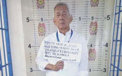 DFA ex-chief Yasay arrested over Banco Filipino case