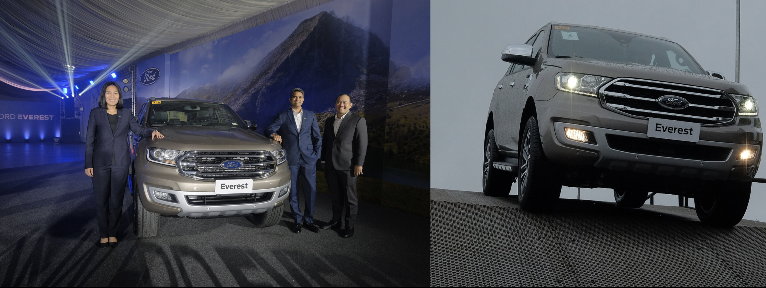 New Ford Everest loaded with engine, transmission, driver-assist upgrades