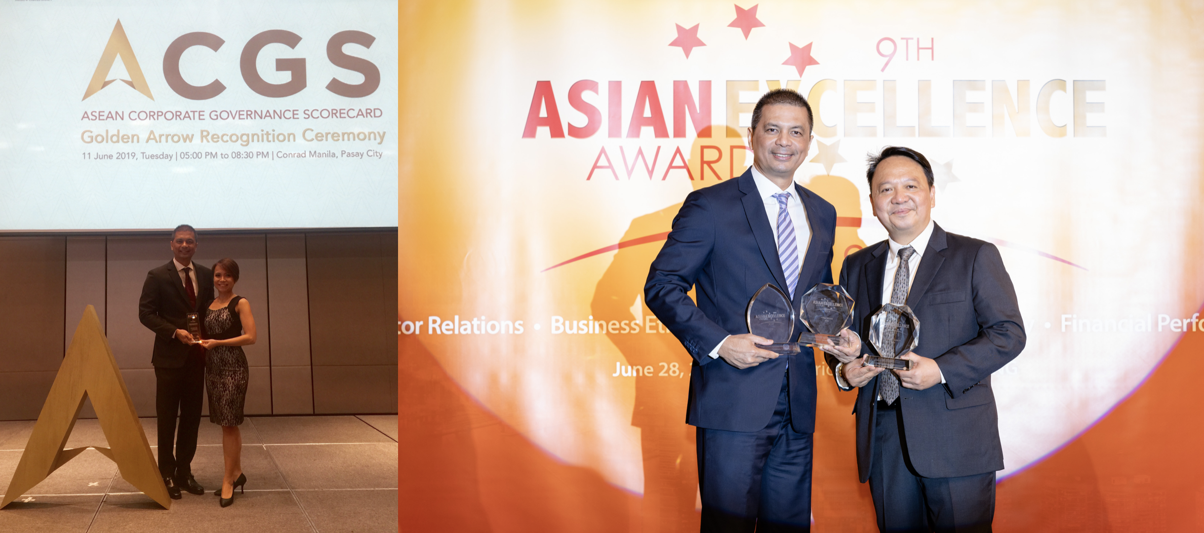 Corporate Governance Asia awards ICTSI's Razon, 2 executives