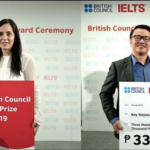 British Council awards 2 outstanding Pinoy IELTS passers