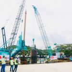 Piling works for LRT-1 Cavite Extension begin