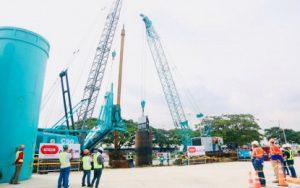 Piling works for LRT-1 Cavite Extension begin
