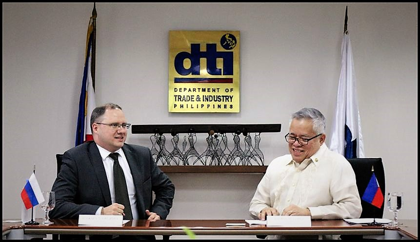 PH eyeing Russian investments during Duterte's visit to Moscow — DTI