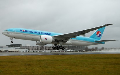 Korean Air boosts PH-Korea cargo services