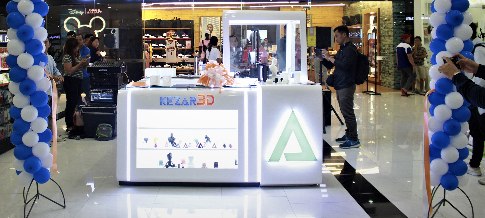 PH's biggest 3D printing startup opens first kiosk in Lipa