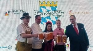 Most authentic Oktoberfest celebration set at Solaire, Oct. 17-19