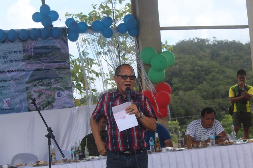 16-MW hydro power plant breaks ground in E. Samar