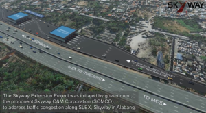 This is how the completed Skyway Extension project will look like