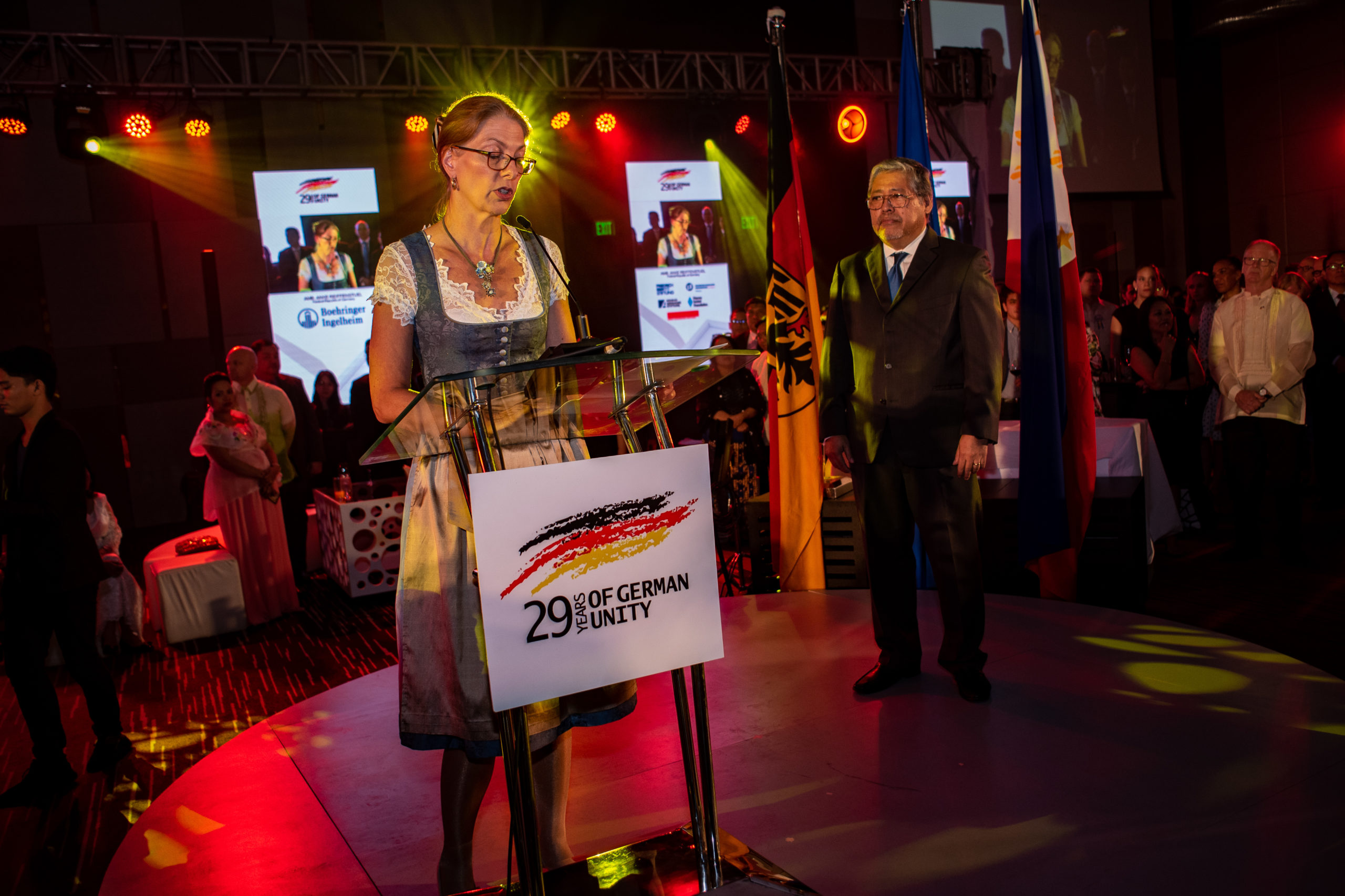 29th German Unity Celebration focuses on Building Bridges and International Cooperation