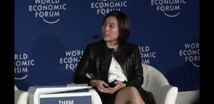 PH First Motorcycle Ride-hailing App Speaks in World Economic Forum
