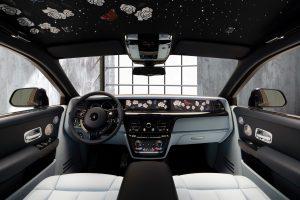 Rolls Royce Phantom unveils its million stitches car