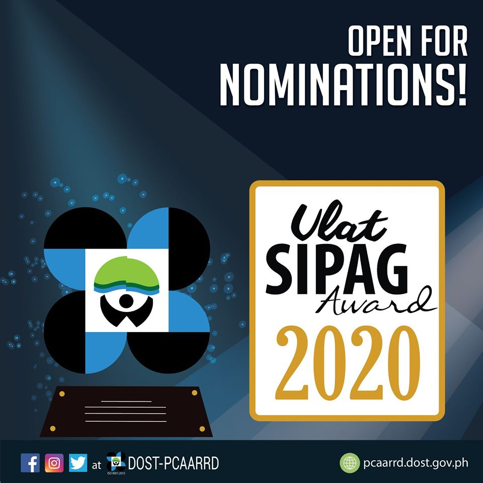 Search is on for 2020 Ulat SIPAG awardees