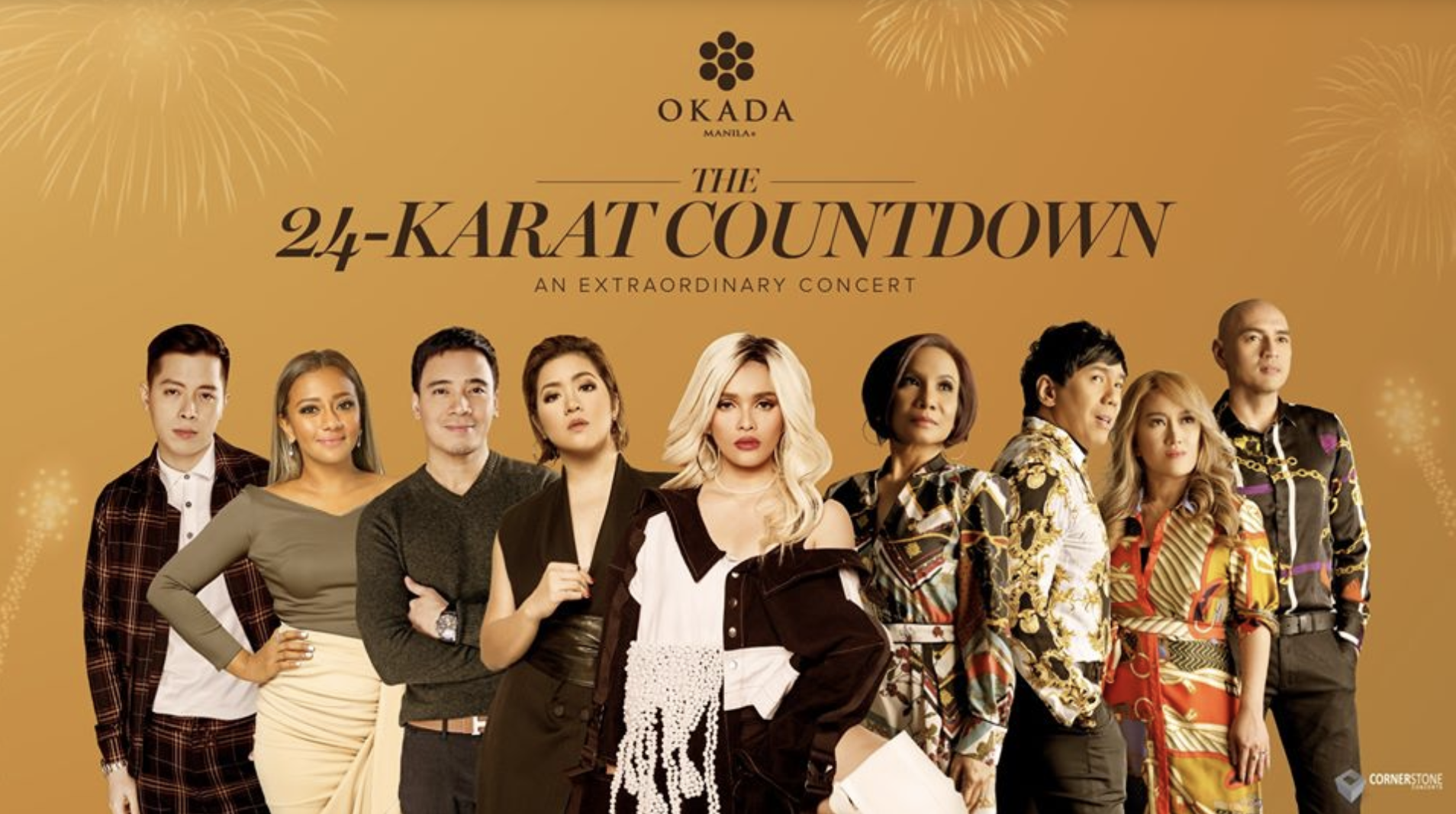 PH most fabulous and biggest New Year's Eve countdown sets in Okada Manila