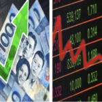 Peso ends stronger, stocks falls