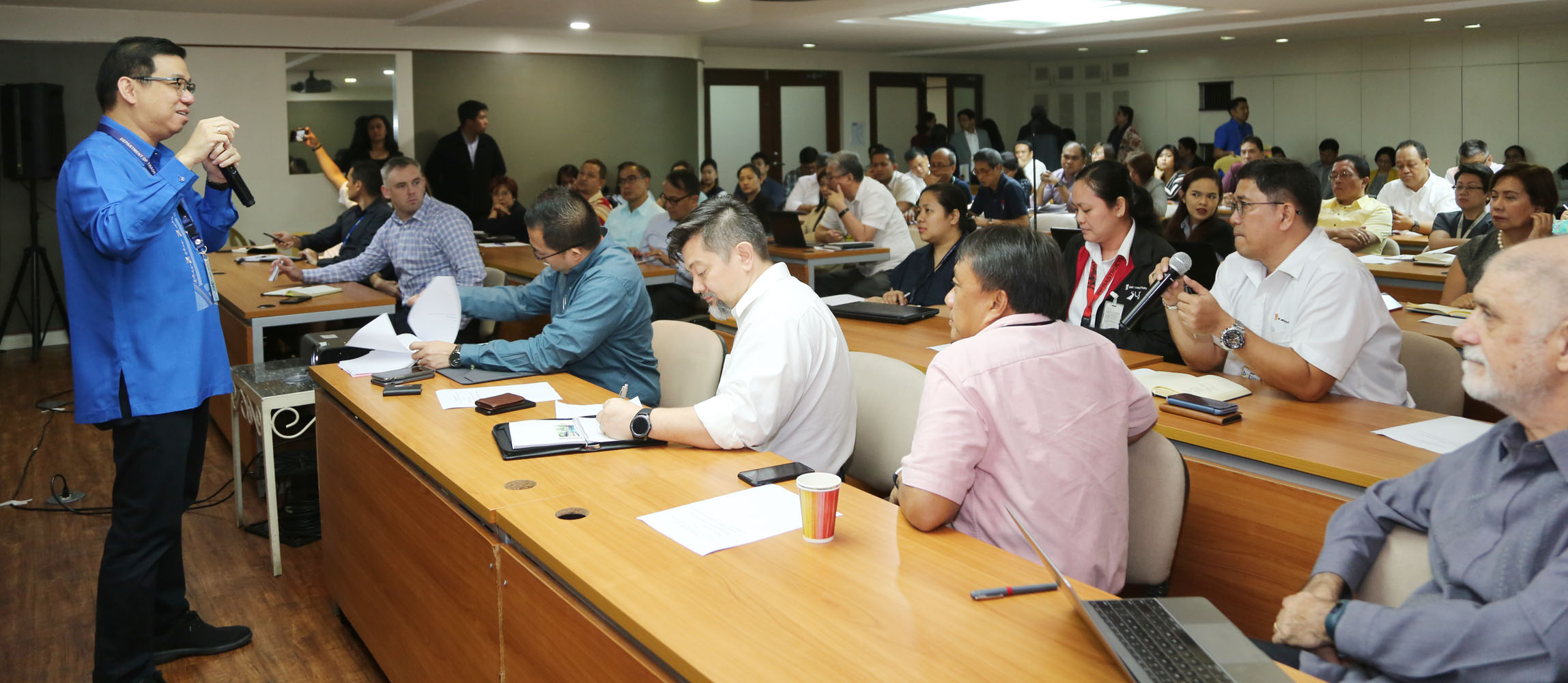 Industry stakeholders discuss business continuity  in affected areas of Taal  eruption