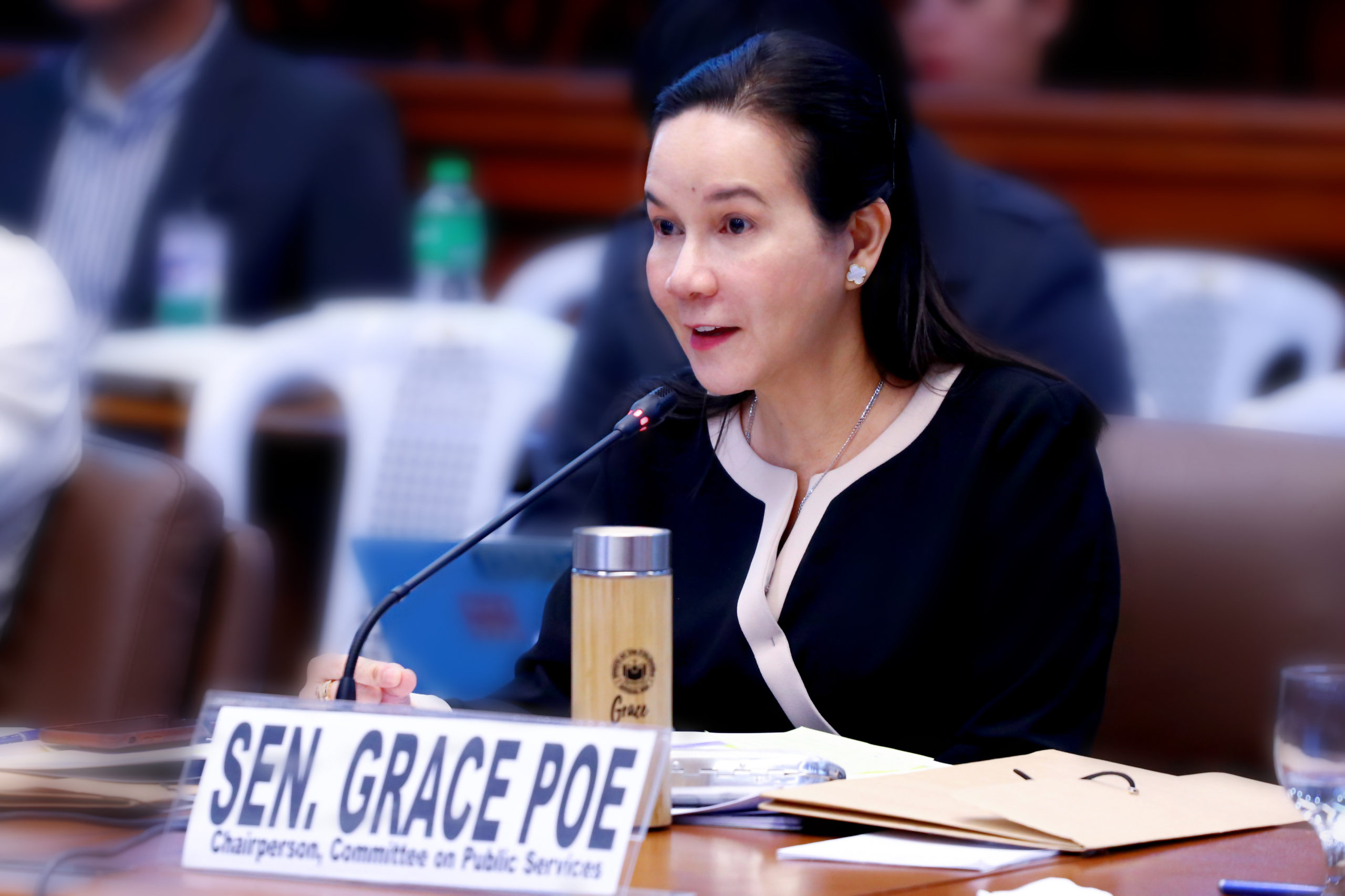 "Sen. Poe chides DOTr, TWG for arbitrarily declaring motorcycle taxis ""illegal"""