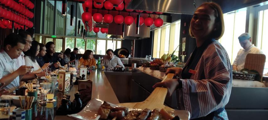 Enbu's Authentic Japanese Kushiyaki titillates the palates