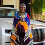 Renowned artist Dr. Esther Mahlangu gives Rolls-Royce's Phantom a unique touch