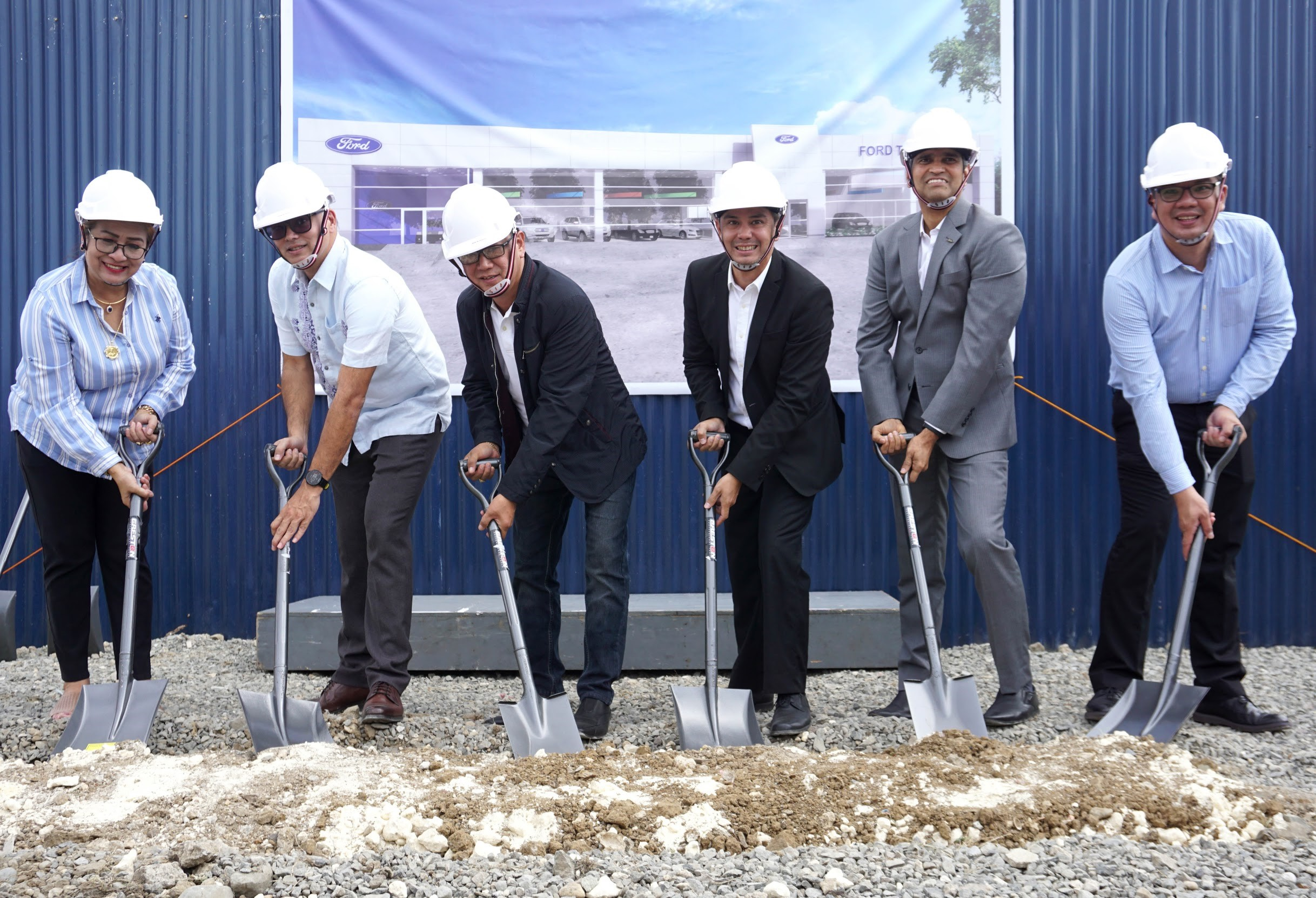 Ford Philippines readies its 50th dealership facility in Talisay, Cebu