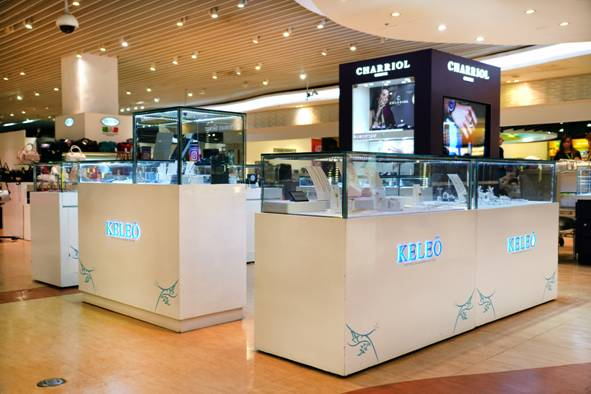 Keleo jewelry collection launches at Duty Free Philippines