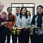 German Ambassador leads the launching of Quezon City Women's Sewing Center