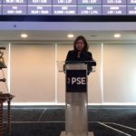 EU gender champion leads 'Ring the Bell for Gender Equality' at the Philippine Stocks Exchange