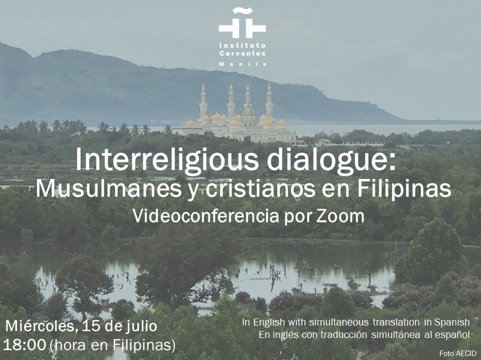 Instituto Cervantes rolls out Christians, Muslims inter-religious dialogue in PH