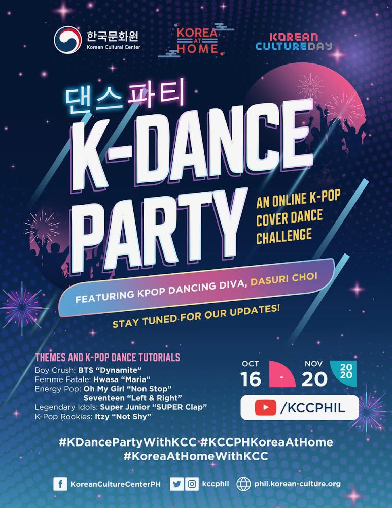 'K-Dance Party' combines free dance tutorials and dance cover contest for K-Pop enthusiasts