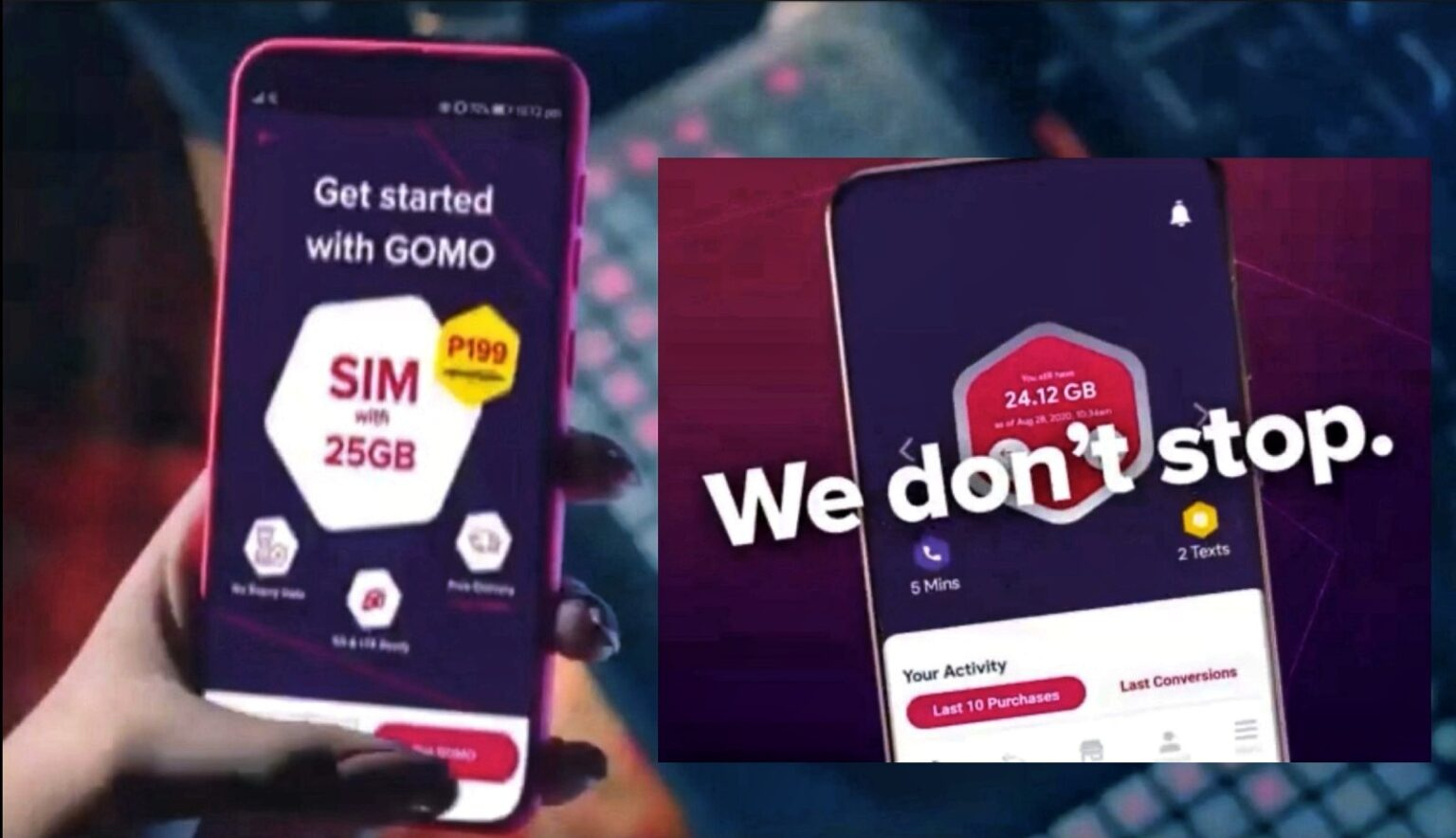 GOMO unveils no-expiry and unlimited data